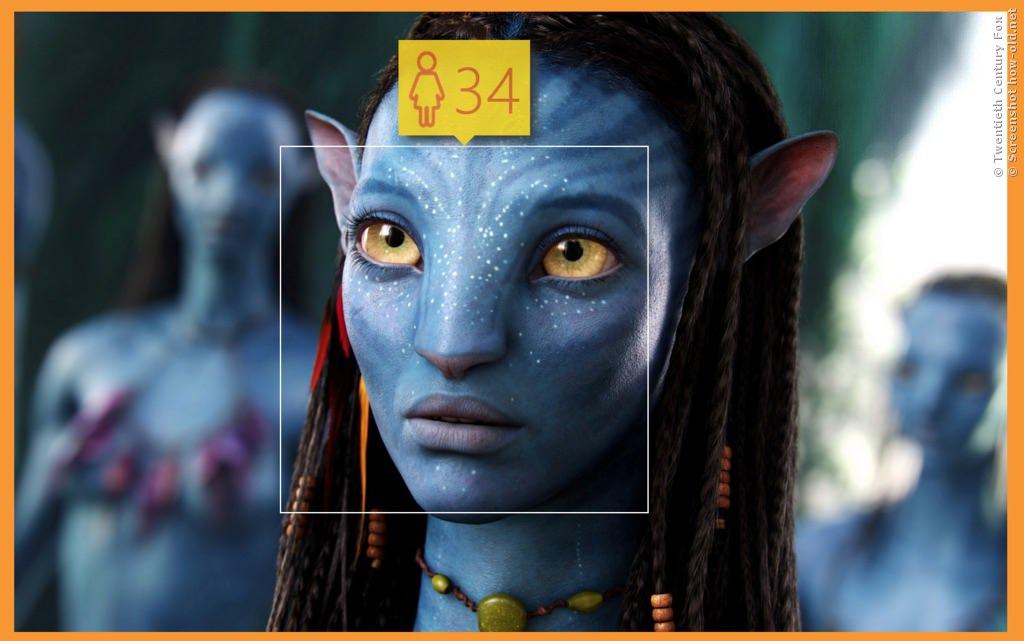 Neytiri aus Avatar guckt zu Recht skeptisch!