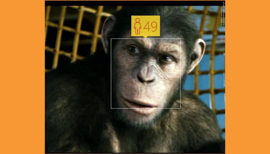 Mit Bart sieht jeder älter aus! Auch Cesar, aus Planet Der Affen!