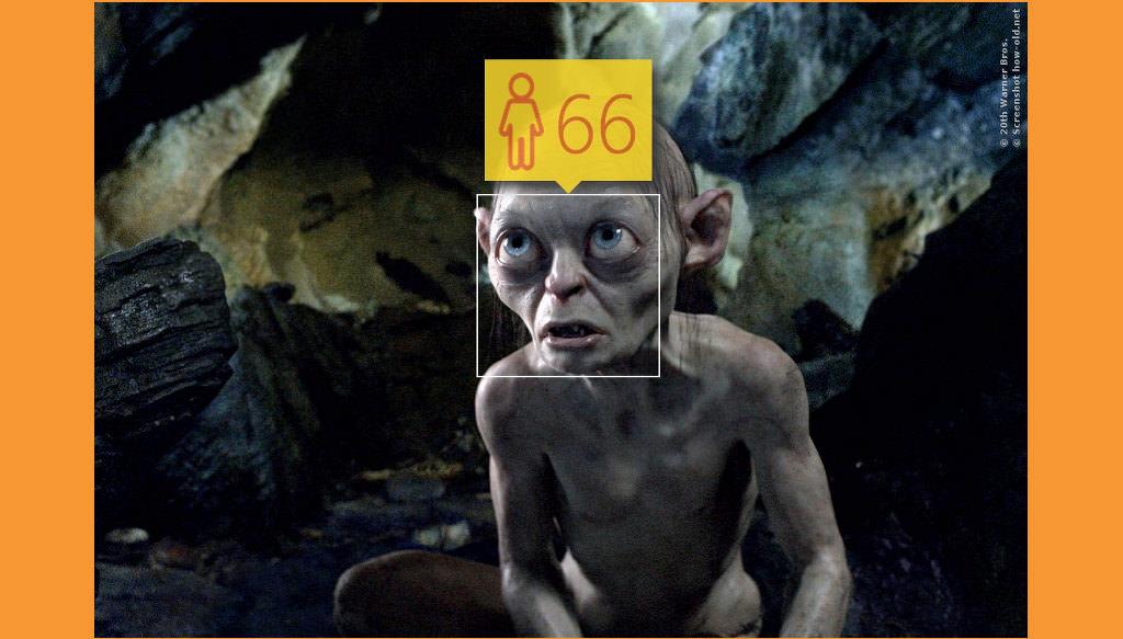 Laut der Geschichte aus Herr Der Ringe und Der Hobbit müsste Gollum ein paar Jahre älter sein!