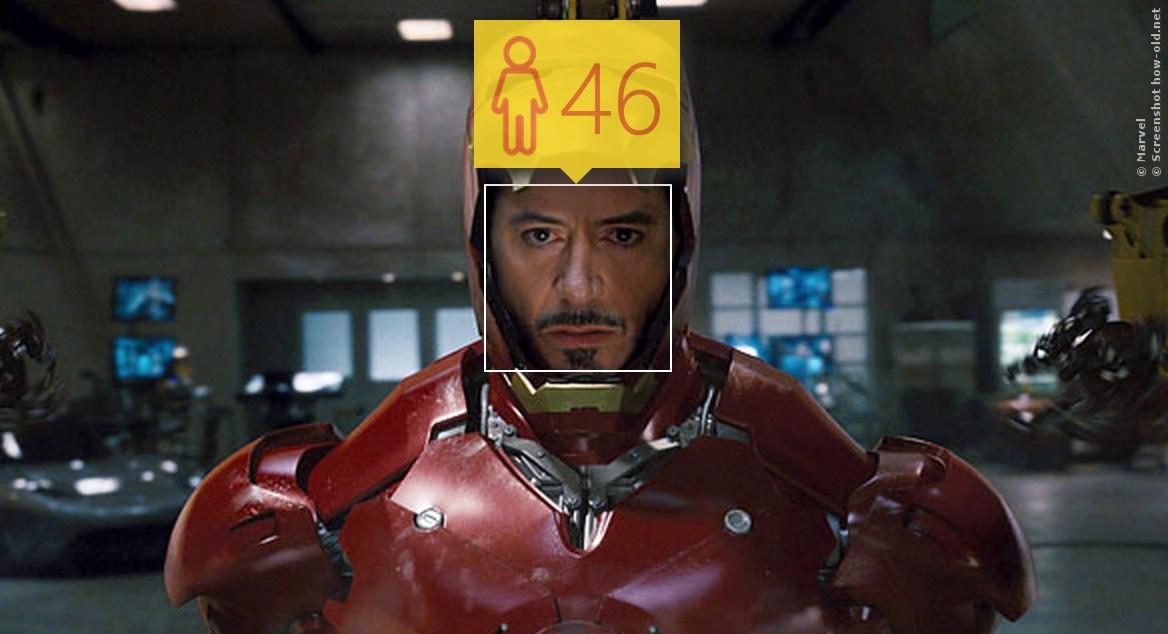 Noch ganz schön rüstig: Iron Man ist also 46!