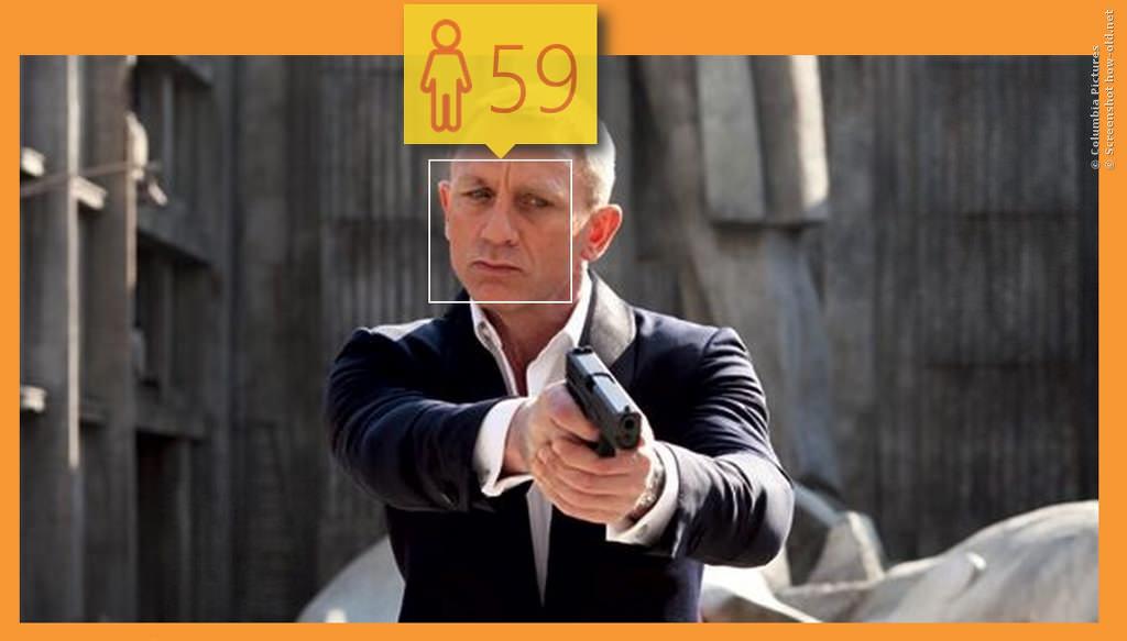 James Bond wird für Spectre sicherlich jünger geschminkt!