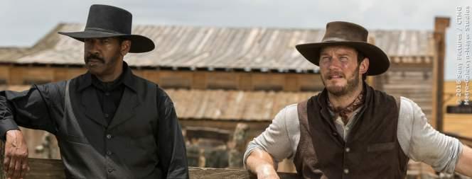Szene aus dem Western-Remake Die Glorreichen Sieben