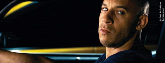 Vin Diesel als Dom in Fast And Furious