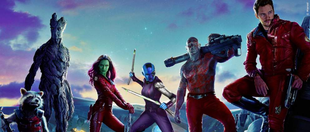 Guardians of the Galaxy: neue Achterbahn