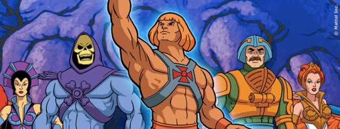 Die Charaktere der TV Trickfilmserie Masters Of The Universe