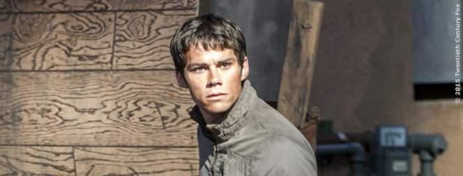 Hauptdarsteller Dylan O'Brien in der Buchverfilmung Maze Runner