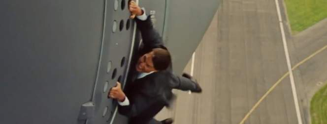 Tom Cruise in Mission Impossible 5 - Rogue Nation