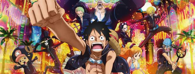 Das Plakat-Motiv zur Manga-Verfilmung One Piece Gold