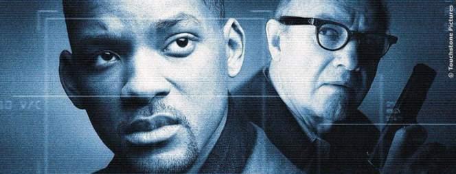 Plakat-Motiv zum Actionthriller mit Will Smith und Gene Hackman: Der Staatsfeind Nr. 1