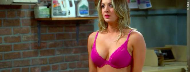 Kaley Cuoco in der Sitcom The Big Bang Theory