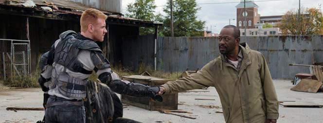 Morgan lernt die Kämpfer aus dem Königreich kennen.