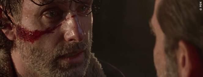 Rick und Negan in The Walking Dead