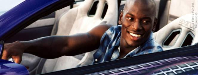 Tyrese Gibson in 2 Fast 2 Furious
