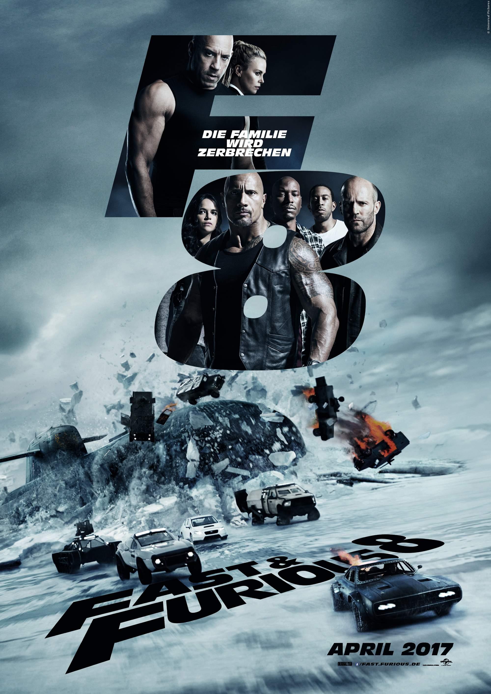 Fast And Furious 8: Neuer deutscher Trailer - Bild 1 von 1