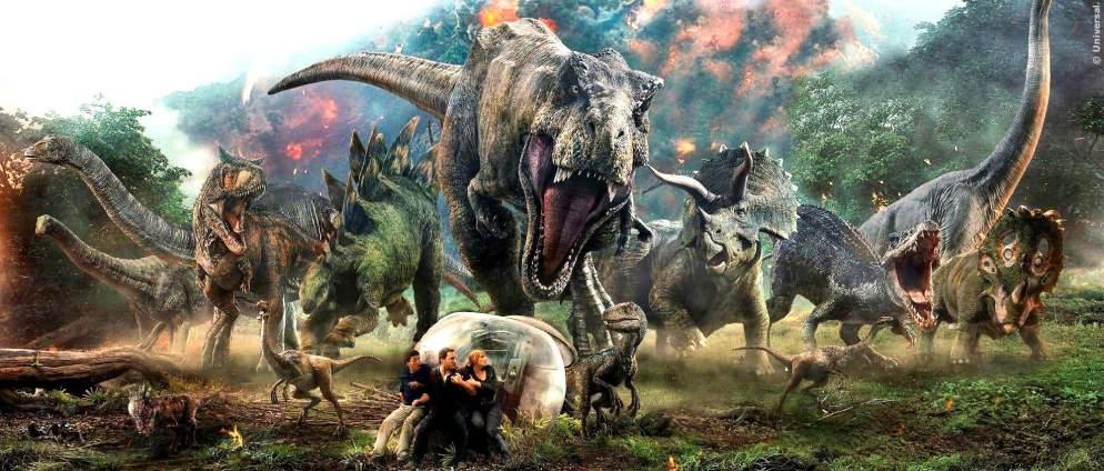Jurassic World 3: So riesig wird der FIlm
