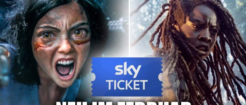 Sky Ticket: Neue Filme und Serien im Februar