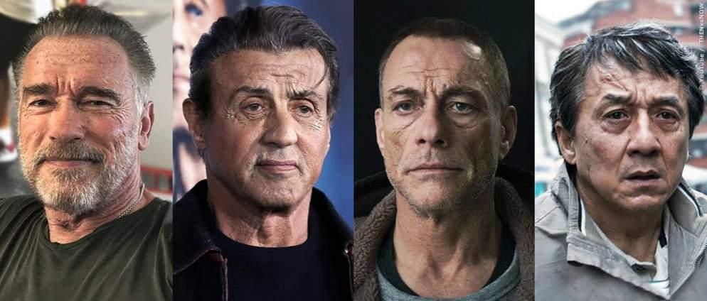 Die 50 besten Action-Stars früher und heute
