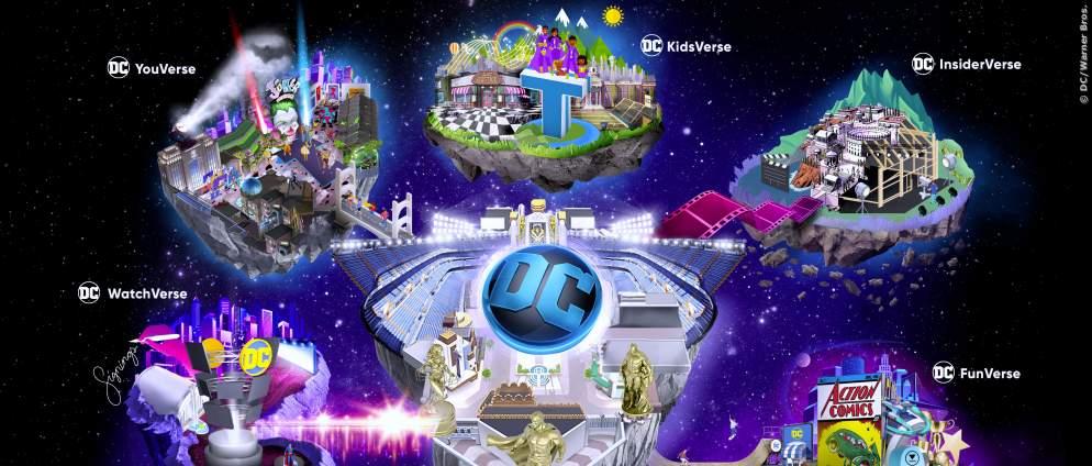 DC FanDome: Virtuelle Superhelden-Welt