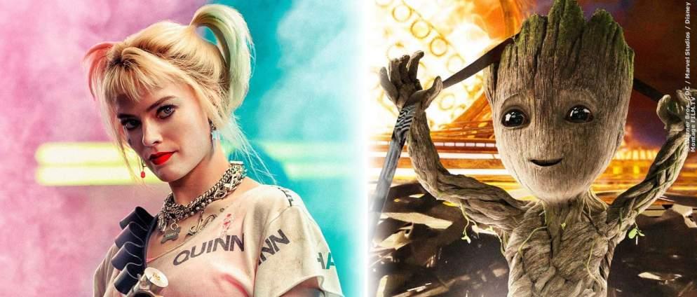 James Gunn will Harley Quinn und Groot in einem Film