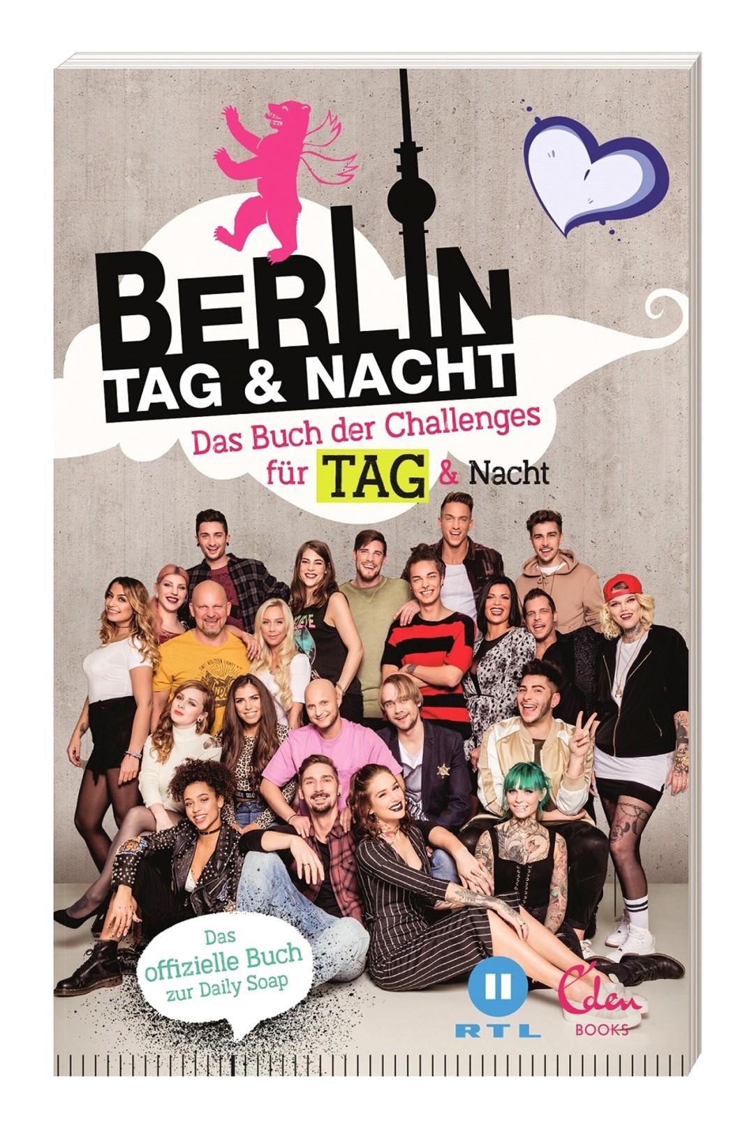 Berlin - Tag und Nacht: Neues Buch mit 100 Challenges - Bild 1 von 1