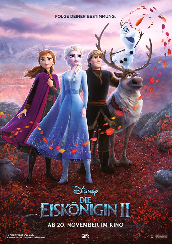 Die Eiskönigin 2: Neuer Trailer und Deutsches Kino-Plakat aus Arendelle - Bild 1 von 11